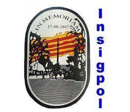 IN MEMORIAM CATALONIA POLICE PATCH