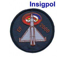 PARCHE BORDADO PILOTO EUROFIGTHER EF-2000