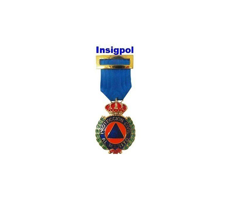 GOLD CIVIL PROTECTION MERIT MEDAL