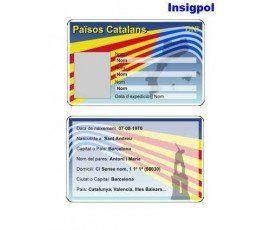CATALAN COUNTRIES ID CARD