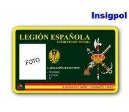 SPANISH LEGION ID CARD
