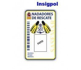 RESCUE SWIMMERS ID CARD