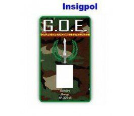 GOE Special Operations Group ID CARD.