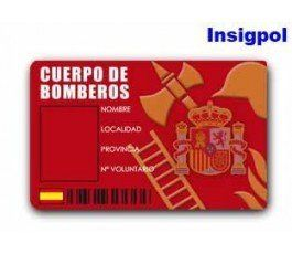 CREDENCIAL CUERPO DE BOMBEROS