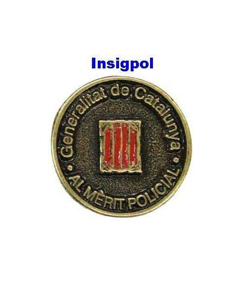 MEDAL HONOR CATALONIA POLICE PIN
