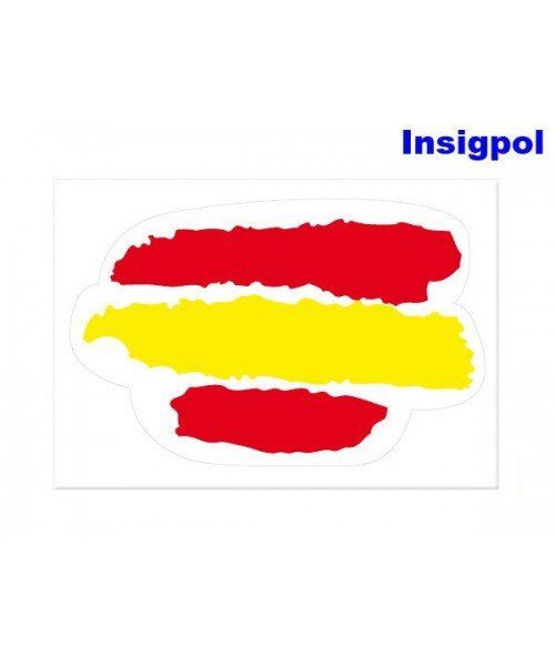 painted-spanish-flag-sticker