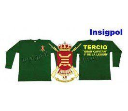 1ST SPANISH LEGION TERCIO GREAT CAPTAIN LONG SLEEVE  T-SHIRT