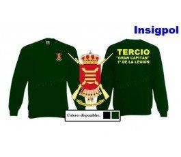 1ST SPANISH LEGION TERCIO GREAT CAPTAIN SWEATSHIRT