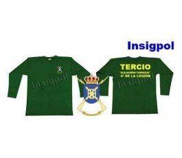 4TH SPANISH LEGION TERCIO ALEXANDER FARNESE LONG SLEEVE T-SHIRT