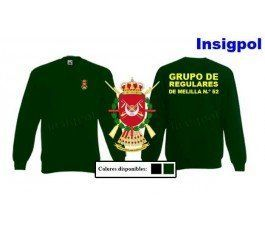 52ND REGULARES LIGHT INFANTRY GROUP SWEATSHIRT