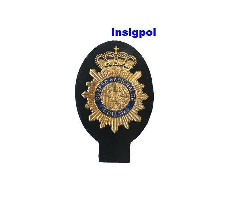 SPANISH-NATIONAL-POLICE-CNP-ARM-PATCH-FOR-POLO-SHIRT
