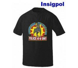 DOG K-9 UNIT BLACK T-SHIRT