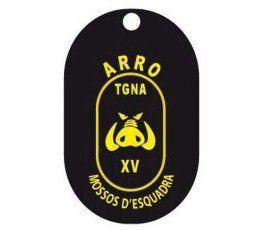 MOSSOS ARRO TARRAGONA RPCT DOG TAG