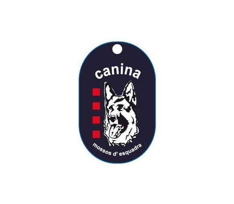 CATALONIA POLICE K-9 DOG TAG