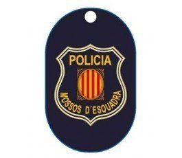 CATALAN POLICE DOG TAG