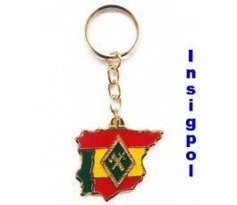 CIVIL GUARD INFORMATION KEY RING