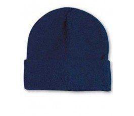 DARK BLUE KNIT CAP
