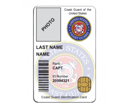 EEUU COAST GUARD ID CARD