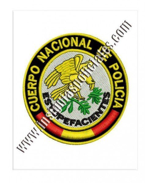 narcotics-spansh-national-police-patch