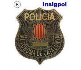 MOSSOS CATALONIA POLICE BADGE