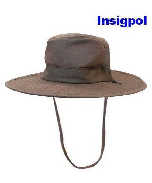 BROWN MILITARY HAT