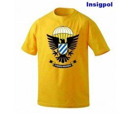 II FLAG EAGLE SPANISH PARATROOPER T-SHIRT
