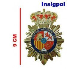 9 CMS. SPANISH NATIONAL POLICE BADGE