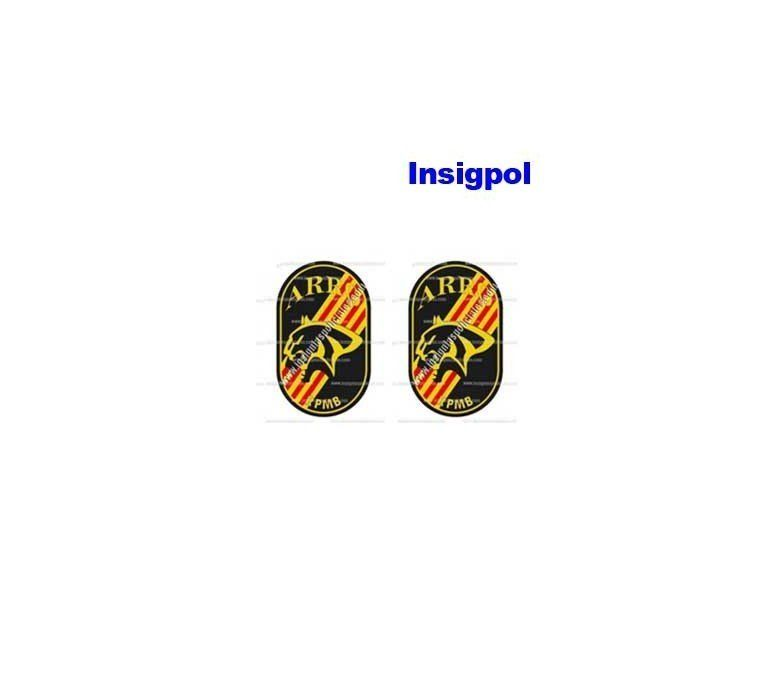 barcelona-arro-police-resin-sticker-1,5-x-1,7-cm