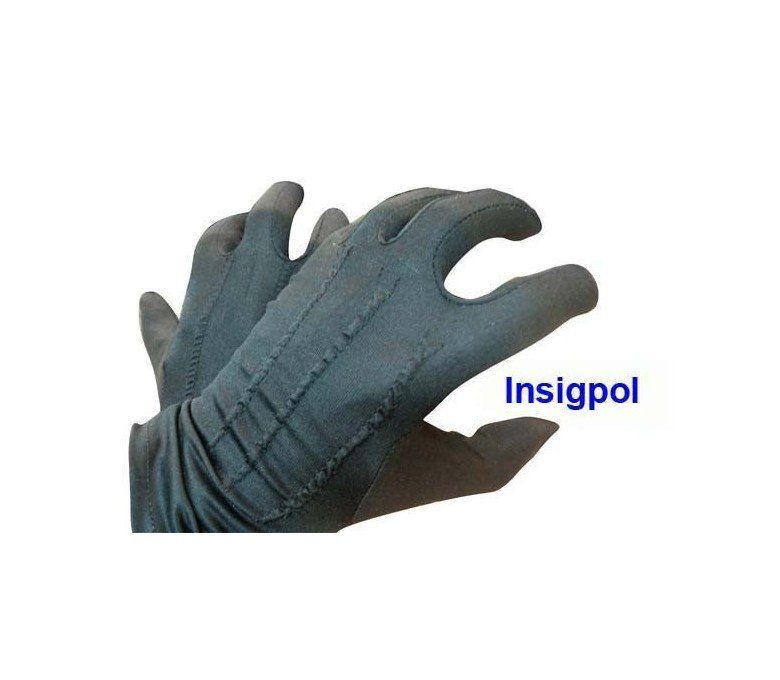 BLACK MILITARY DRESS GLOVES