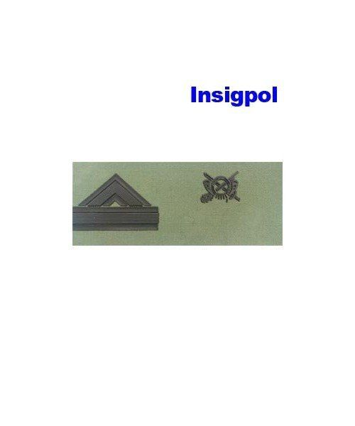 SPANISH INFANTRY CORPORAL MAJOR CHEST RANK PATCH