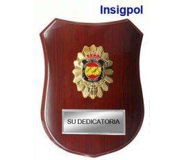 OLIMPIC SHOOTER WOOD TROPHY