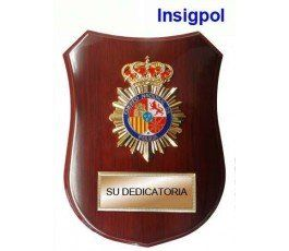 SPANISH-NATIONAL-POLICE-WOOD-PLAQUE