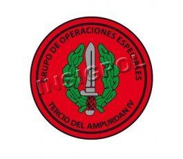 PARCHE GRUPO OPERACIONES ESPECIALES - TERCIO DEL AMPURDAN IV