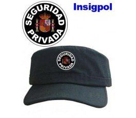SECURITY WHITE LETTERS CAP WITH