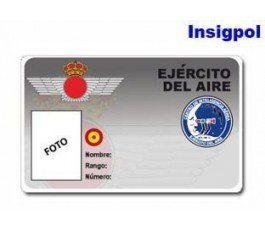 SPANISH AIR FORCE ID CARD