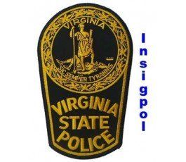 VIRGINIA-STATE-POLICE -PATCH