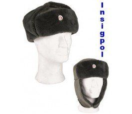 EAST GERMAN ARMY EM WINTER CAP LIKE NEW