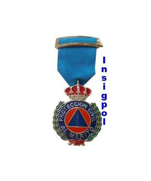 SILVER MERIT MEDAL CIVIL PROTECTION