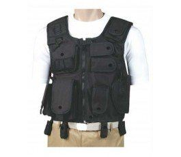 BLACK WAR TACTICAL VEST