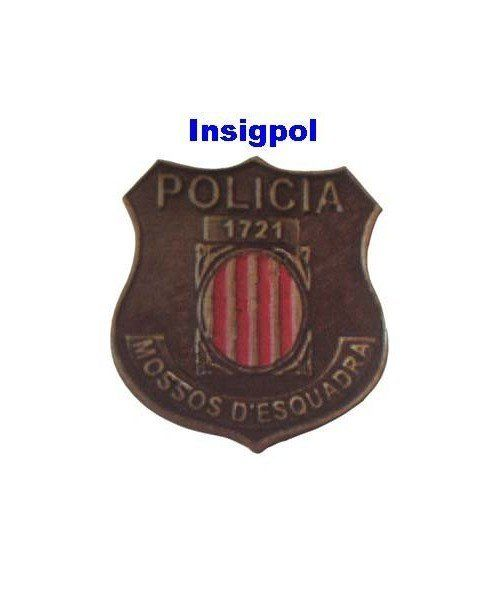 CATALONIAN POLICE MINI BADGE