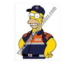 homer-proteccion-civil-sticker