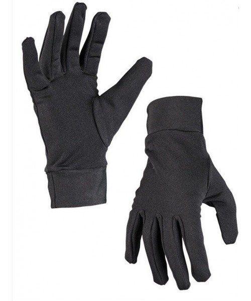 GUANTES NEGROS PARA CACHEO MILTEC. Se puede usar como guante de gala. Buena calidad. Fabricado en nylon.