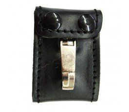 LEATHER POLICE KEYCHAIN HOLDER HAND