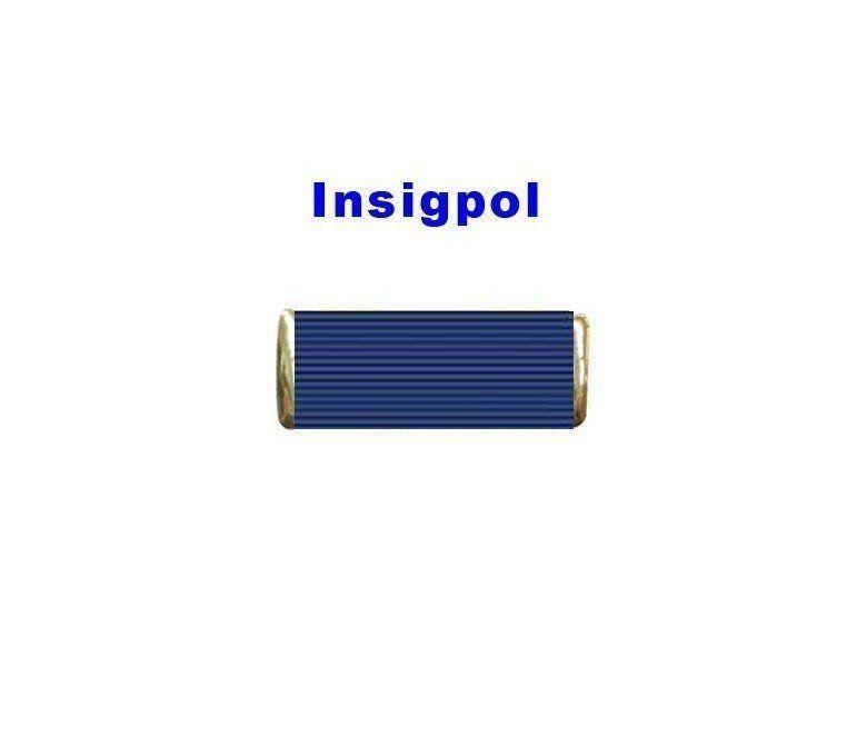 SPANISH CIVIL PROTECTION MERIT MEDAL BLUE RIBBON