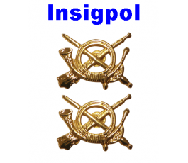SPANISH ARMY INFANTRY PAIR BRANCH INSIGNIA