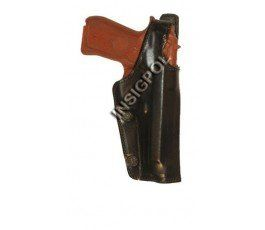 LEATHER GUN HOLSTER (SIDE)...