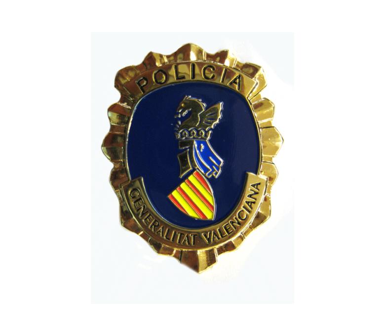 SPANISH VALENCIA COMMUNITY POLICE BADGE