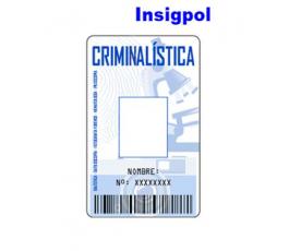 CRIMINALISTICS ID CARD
