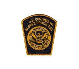 United States Border Patrol Right sleeve patch