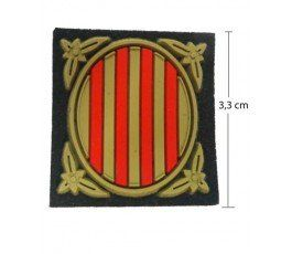 SHIELD FLAG CATALONIA PATCH